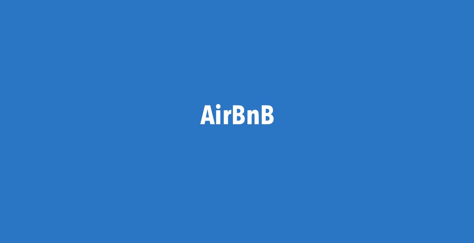 Fremleje via AirBnB