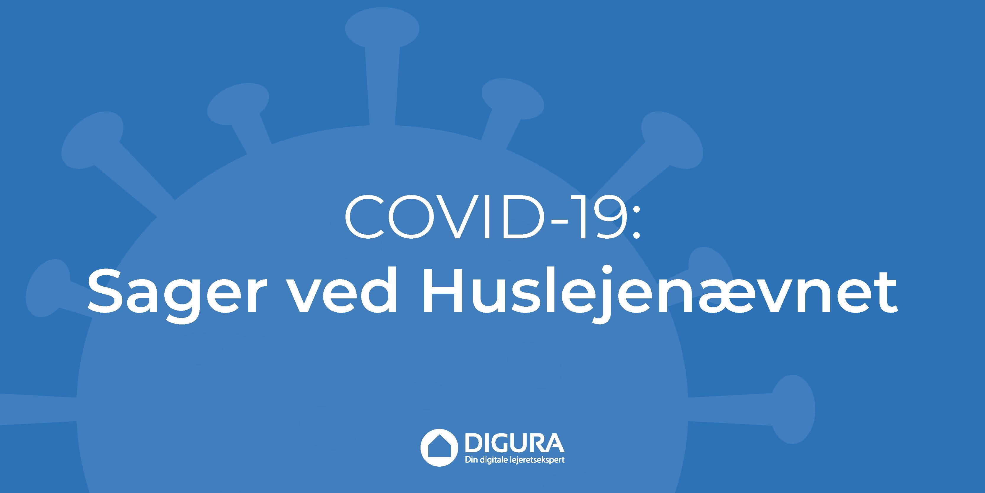 Covid-19: Sager ved Huslejenævnet